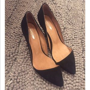 Jeffrey Campbell Free People suede d'orsay pumps
